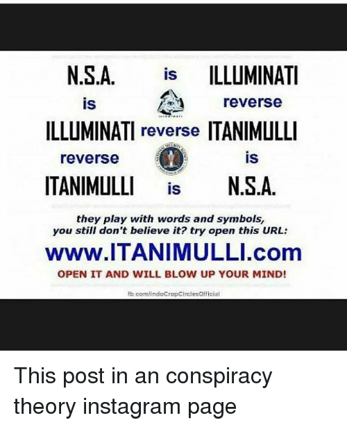 Why does itanimulli go to nsa