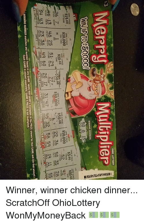 Eastcantonvillage — All Of The New Ohio Lottery Scratch Off Games