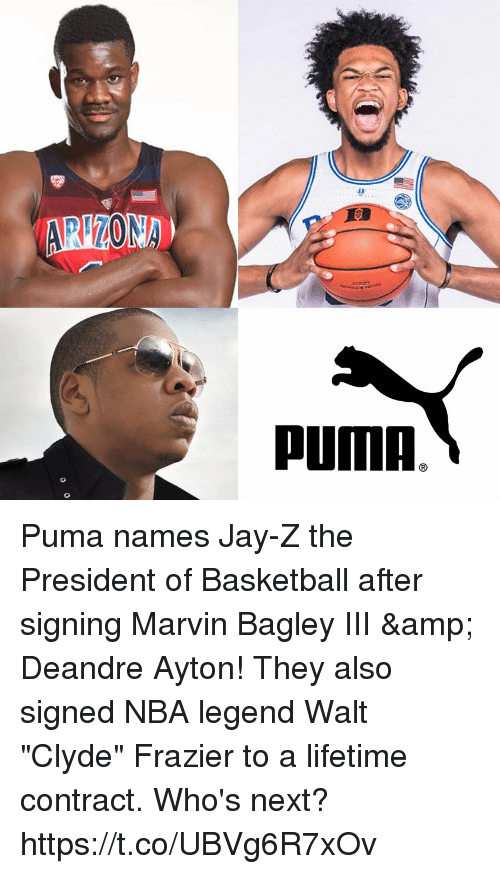 f718e030a464 NA PUMA Puma Names Jay-Z the President of Basketball After Signing ...