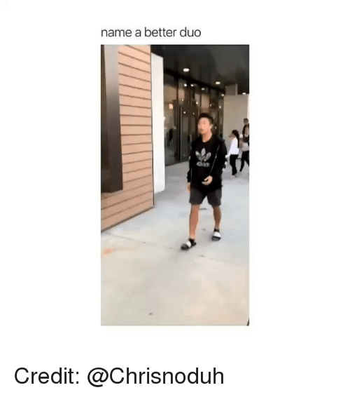 Girl Memes, Name, and Chin: name a better duc  chin Credit: @Chrisnoduh