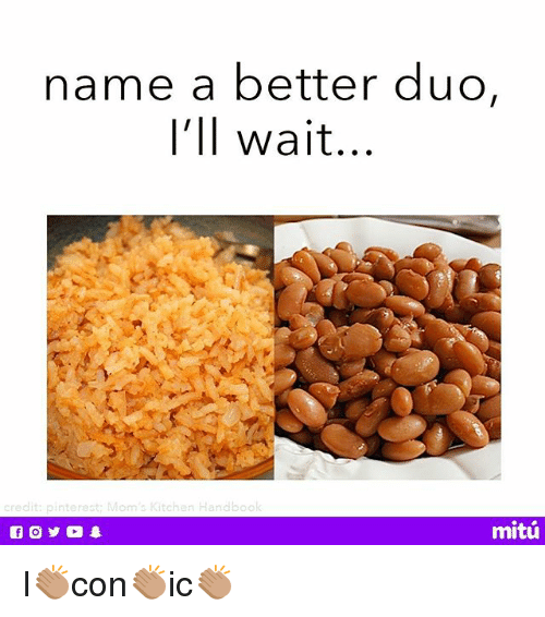 Memes, Moms, and Pinterest: name a better duo,  I'll wait...  credit: pinterest: Mom's Kitchen Handbool  mitú I👏🏽con👏🏽ic👏🏽