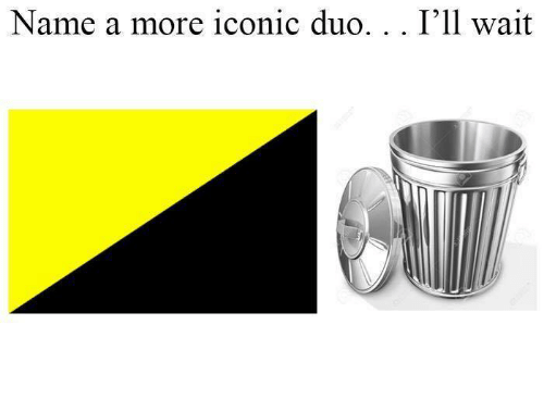 Iconic, Name, and More: Name a more iconic duo.. . I'll wait