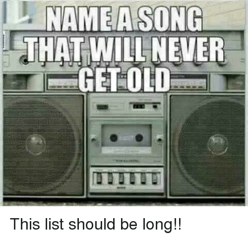 old song name list