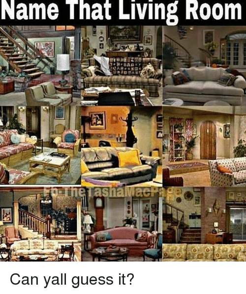 Perfect Memes, Guess, And Living: Name That Living Room Can Yall Guess It?
