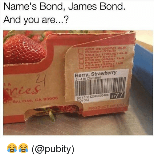 My name is Bond, James Bond - YouTube