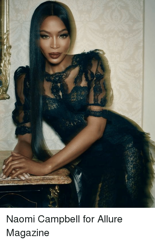 Naomi Campbell, Allure, and Naomi: Naomi Campbell for Allure Magazine