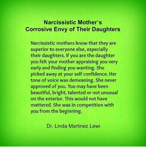 Narcistic mothers