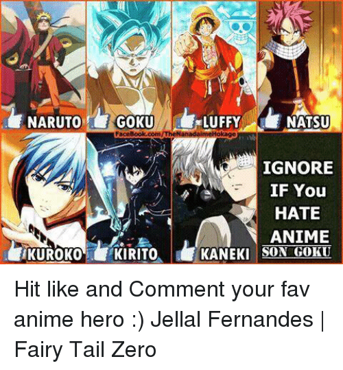 25+ Best Memes About Anime Heroes