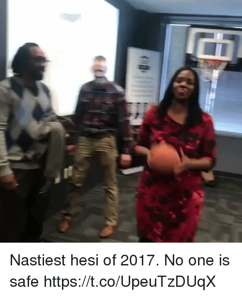Basketball, White People, and One: Nastiest hesi of 2017. No one is safe https://t.co/UpeuTzDUqX