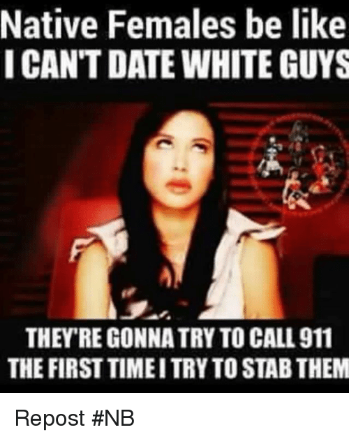dating a white guy quotes