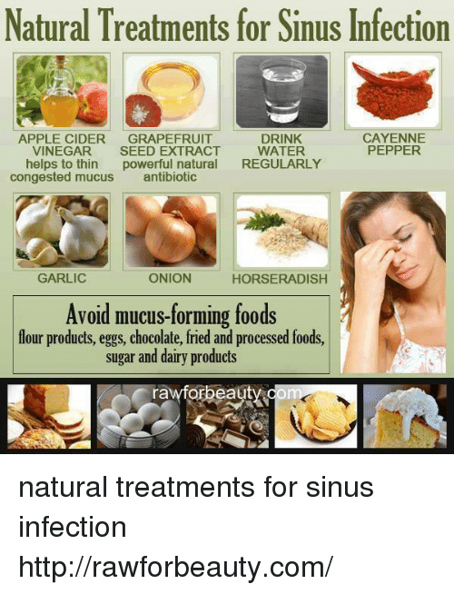 Holistic help for sinusitis