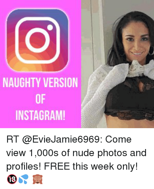 Free nudes on instagram