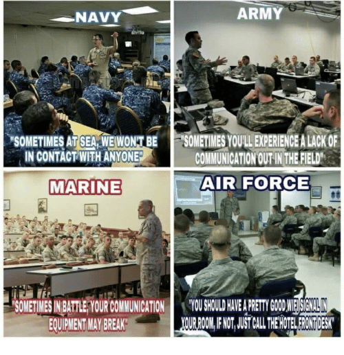 sea force army and air force