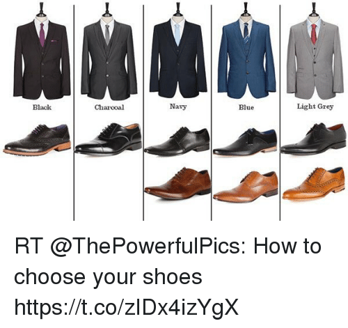 Shoes, Black, and Blue: Navy Blue Light Grey Black Charcoal RT @ThePowerfulPics
