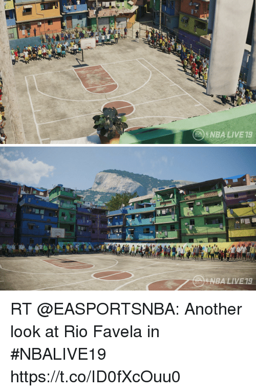 Memes, Nba, and Sports: NBA LIVE 19   SPORTS RT @EASPORTSNBA: Another look at Rio Favela in #NBALIVE19 https://t.co/ID0fXcOuu0