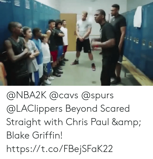 Blake Griffin, Cavs, and Chris Paul: @NBA2K @cavs @spurs @LAClippers Beyond Scared Straight with Chris Paul & Blake Griffin!    https://t.co/FBejSFaK22