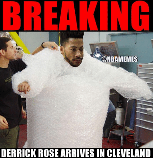 nbamemes derrick rose arrives in cleveland 26009144 nbamemes derrick rose arrives in cleveland derrick rose meme on