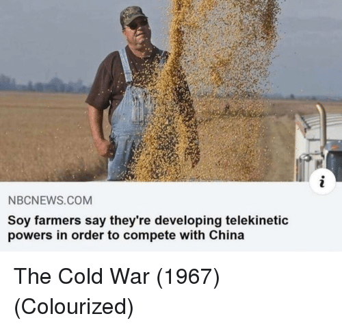 NBCNEWSCOM Soy Farmers Say They're Developing Telekinetic
