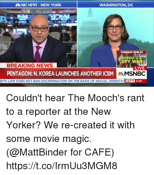 Msnbc Breaking News: &NBCNEWS-NEW YORK WASHINGTON DC TONIGHT 9PM ET USSIA PY