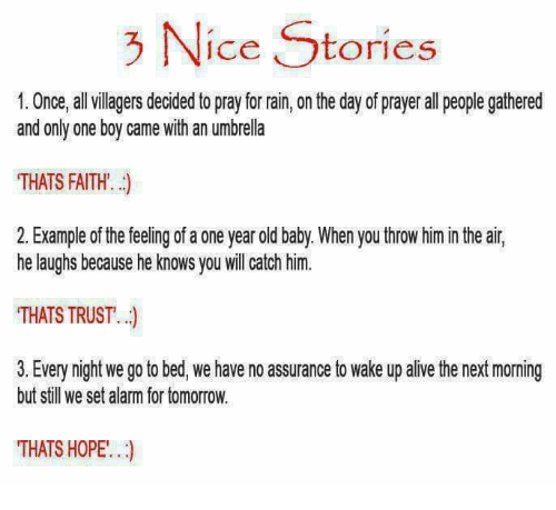 Nce Stories 1 Once All Villagers Decided to Pray for Rain on