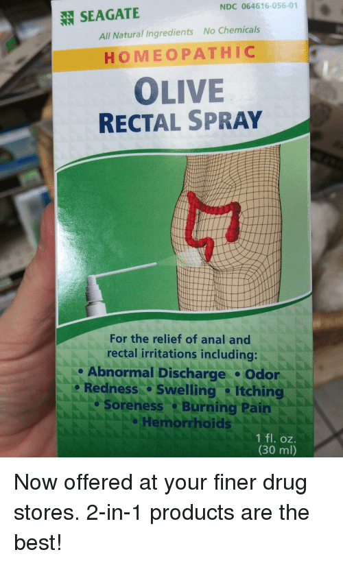 Anal burning and pain