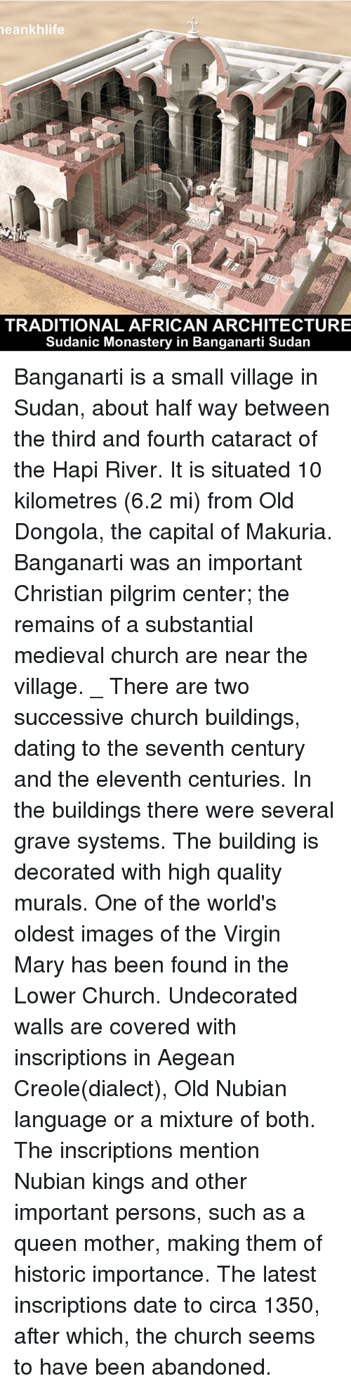 dongola christian singles The arab accounts of the invasion of 652 only make reference to a single state based at dongola political relations between makuria and christian ethiopia to.