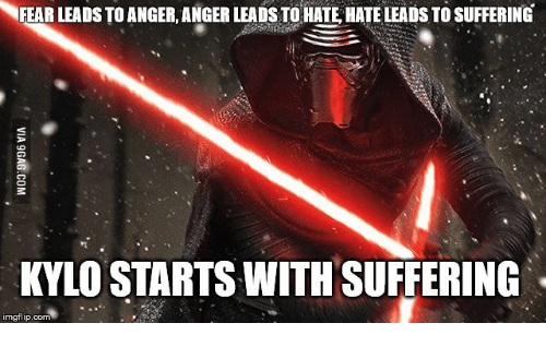 neear leads toanger anger leads to hate hateleads to suffering 13604202 ✅ 25 best memes about anger leads to hate anger leads to hate,Fear Leads To Anger Meme