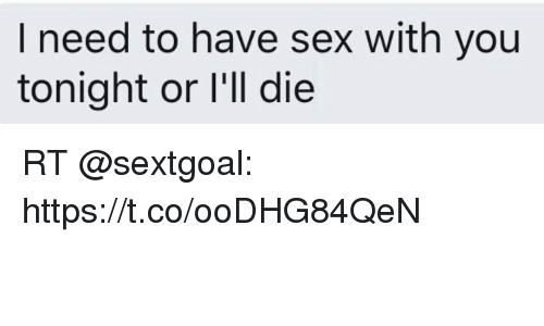 Have need sex