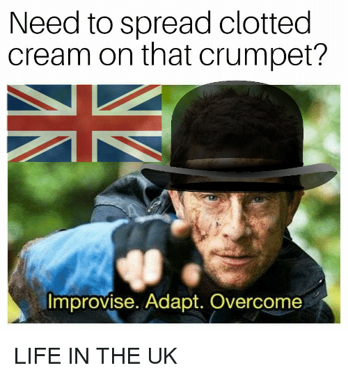 b8412b648b6 Need to Spread Clotted Cream on That Crumpet  Improvise Adapt ...