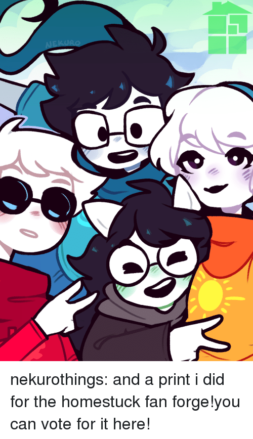 Fantastic Nekurothings And A Print I Did For The Homestuck Fan Forge Interior Design Ideas Inesswwsoteloinfo