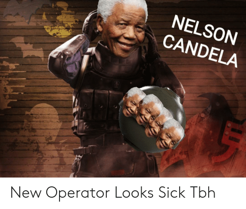 d1aa81798bf4 NELSON CANDELA New Operator Looks Sick Tbh
