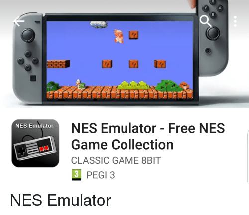 NES Emulator - Free NES Game Collection CLASSIC GAME 8BIT