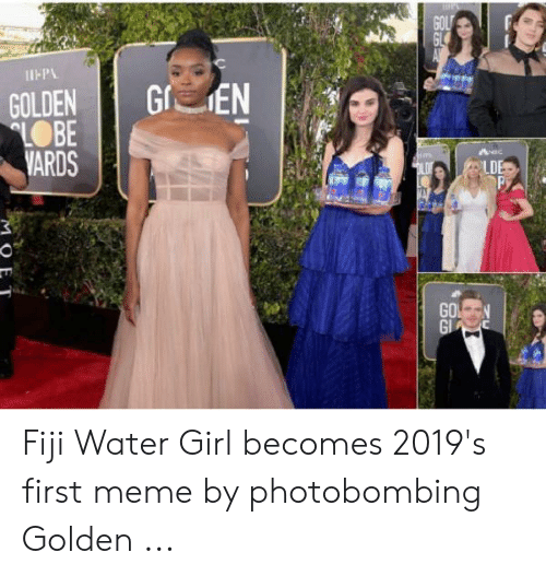 Nes Fiji Water Girl Becomes 2019 S First Meme By