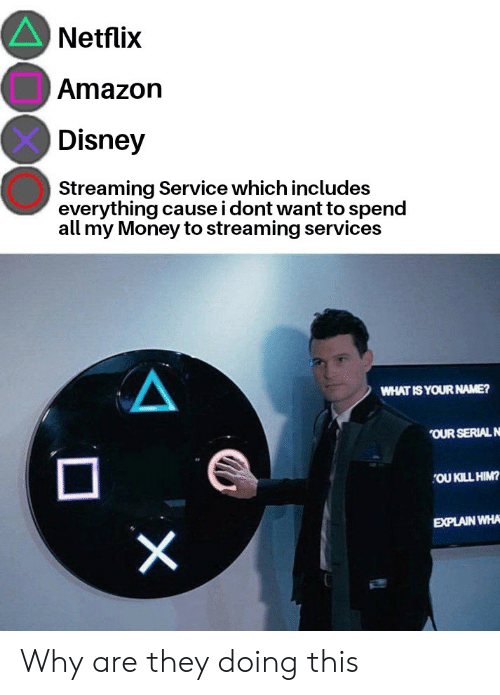 Netflix Amazon Disney Streaming Service Which Includes