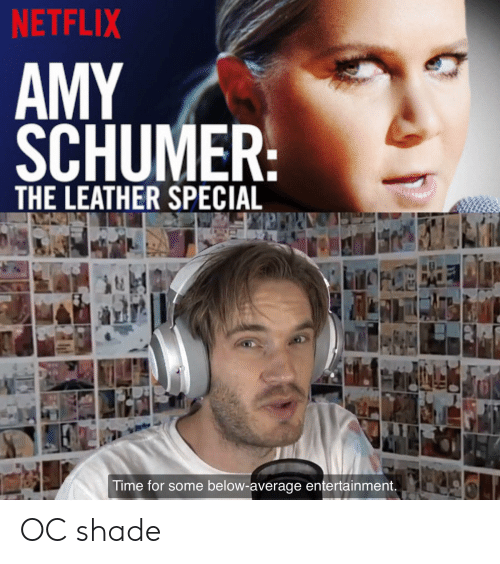 NETFLIX AMY SCHUMER THE LEATHER SPECIAL Time for Some Below