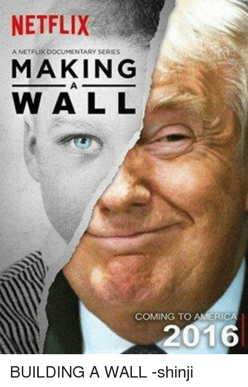 NETFLIX ANETFux DOCUMENTARY SERIES MAKING WALL COMING TO