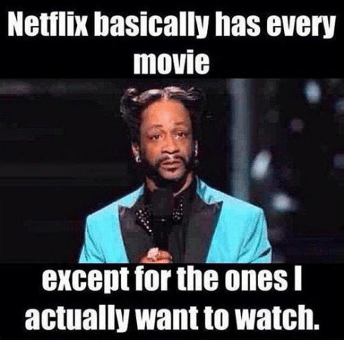 Netflix Basically Has Every Movie Except for the Ones