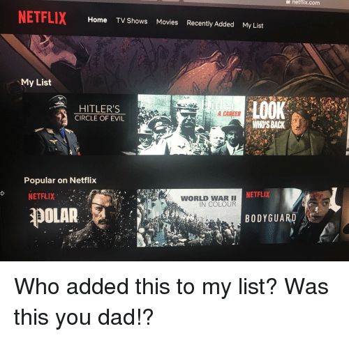Netflixcom netflix home tv shows movies recently added my - Home shows on netflix ...
