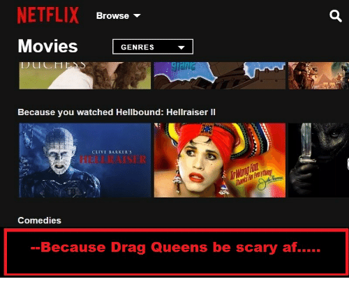 NETFLIX Movies G Browse - GENRES Because You Watched Hellbound