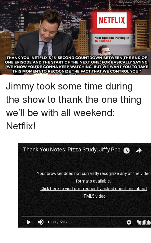 NETFLIX Next Episode Playing in 15 Seconds THANK YOU NETFLIX'S 15