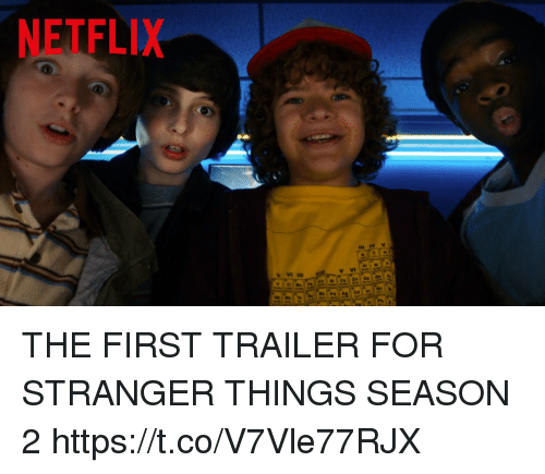 The First Netflix Daredevil Trailer Is Out: NETFLIX THE FIRST TRAILER FOR STRANGER THINGS SEASON 2
