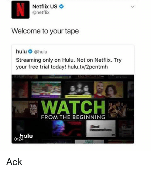 Hulu Charged Me For Free Trial