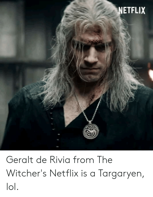 Netflix Www Geralt De Rivia From The Witcher S Netflix Is A