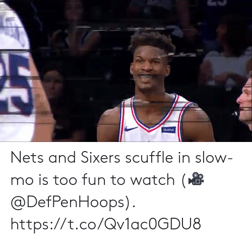 Memes, Sixers, and Watch: Nets and Sixers scuffle in slow-mo is too fun to watch  (🎥 @DefPenHoops).  https://t.co/Qv1ac0GDU8