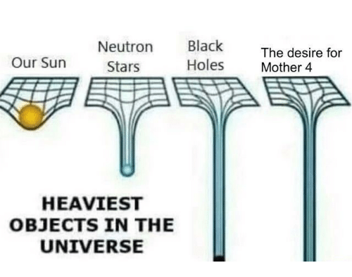 Neutron Black Holes the Desire for Mother 4 Our Sun Stars