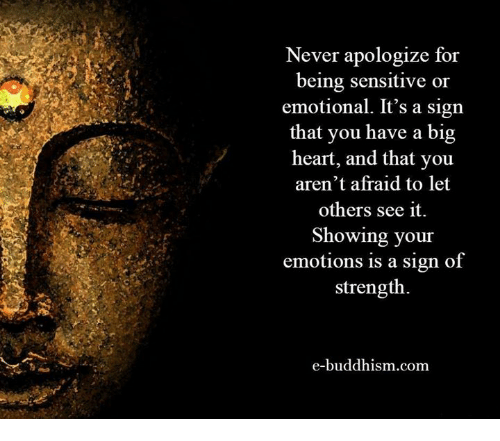 sensitive to others emotions