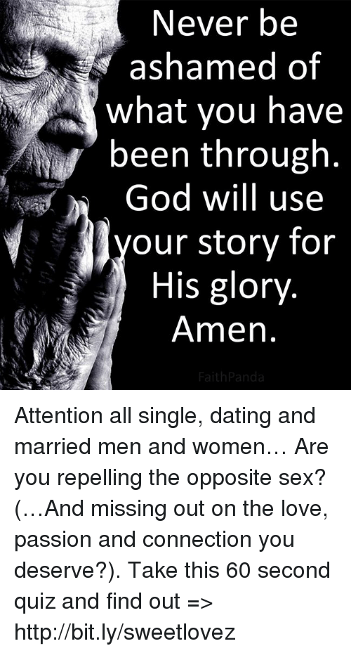 Dating a married man story