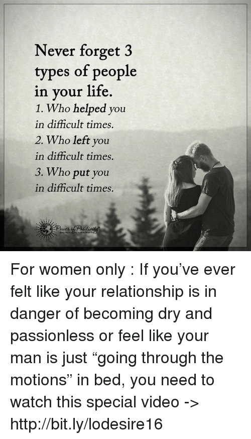 types of relationships in life