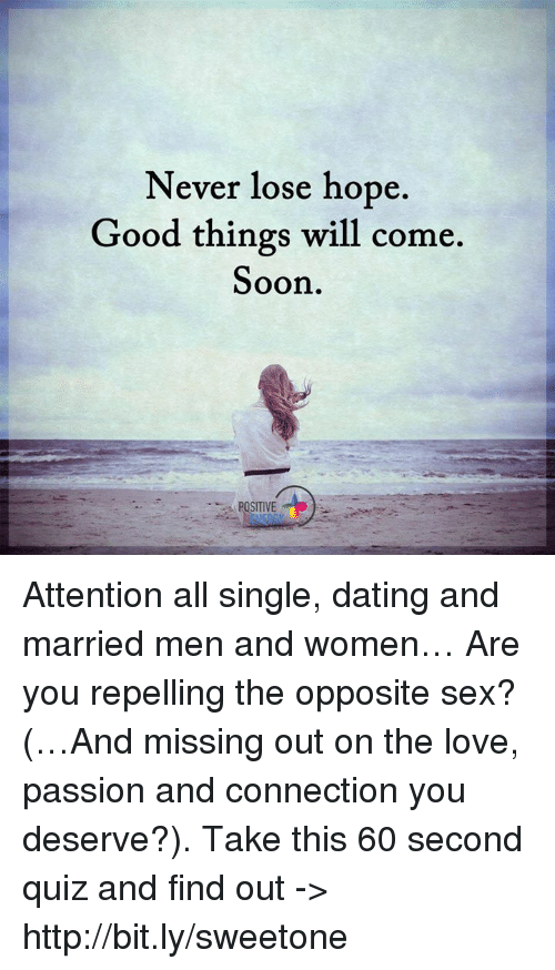 Good things about dating a married man
