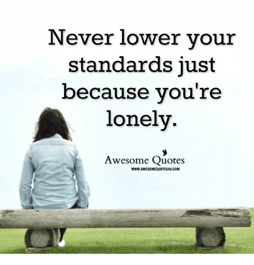 Dating someone just because youre lonely